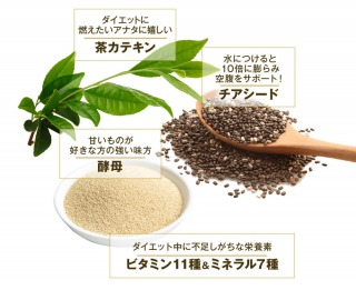 雑穀麹の生酵素の原材料