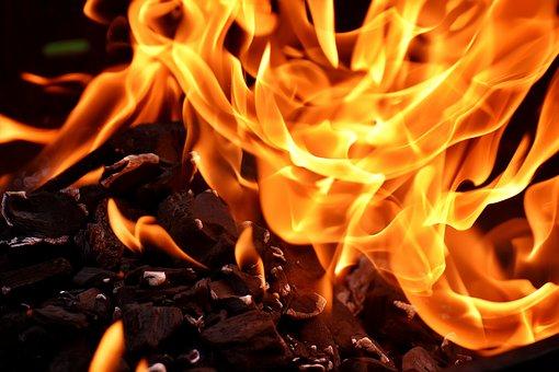 金剛筋シャツの脂肪燃焼効果の比喩である炎
