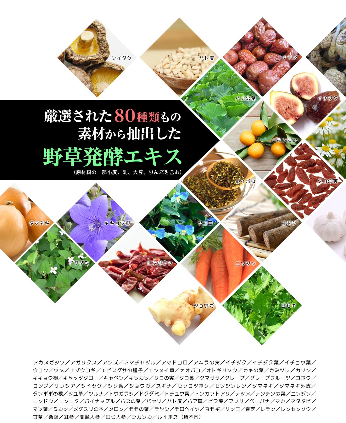野草発酵エキス