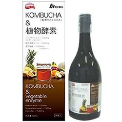 明治薬品 KOMBUCHA(コンブチャ)&植物酵素 720ML