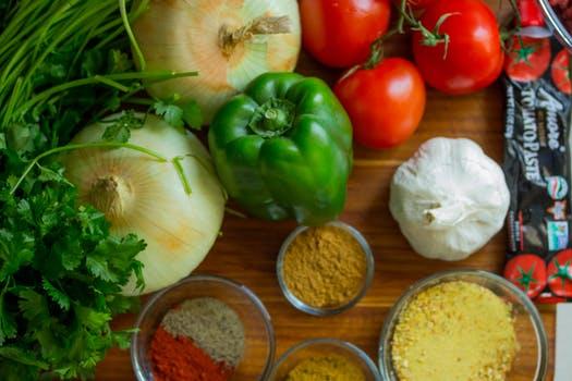 野菜などの食材