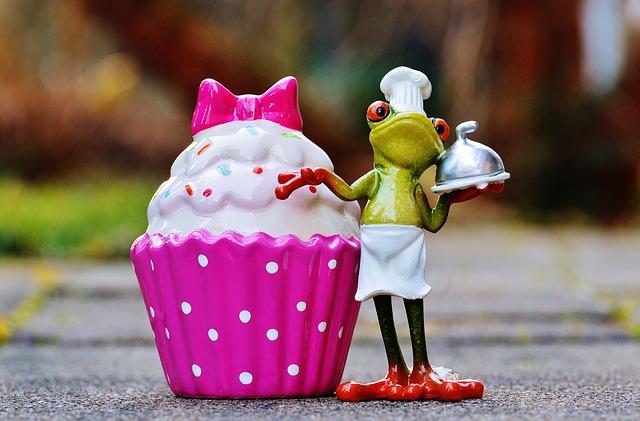 ケーキ カエル