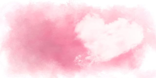 ハート 雲