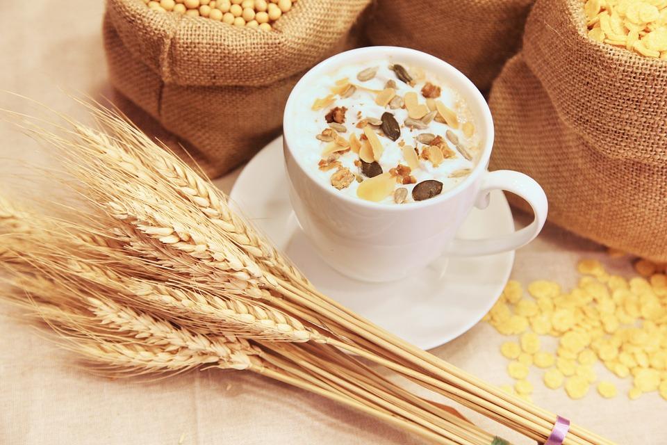 穀物 麦 コーンフレーク