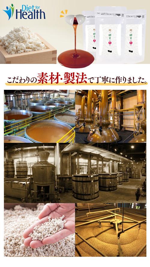 紅麹の製造過程