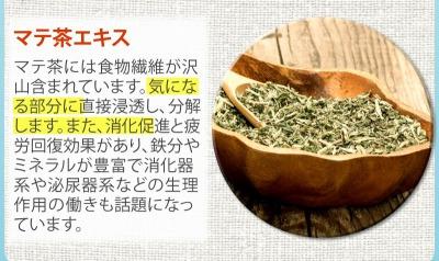 ボディクラッシュの効果マテ茶