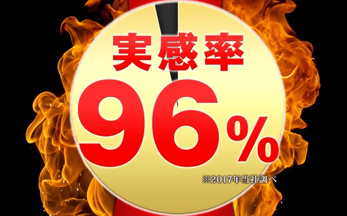 鍛神実感率96%