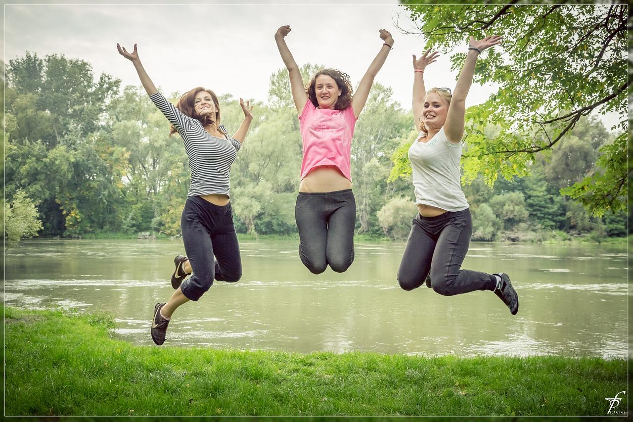 天然酵素りたんの効果に喜ぶ女性