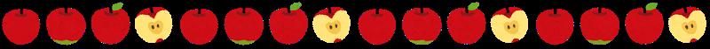 リンゴのライン