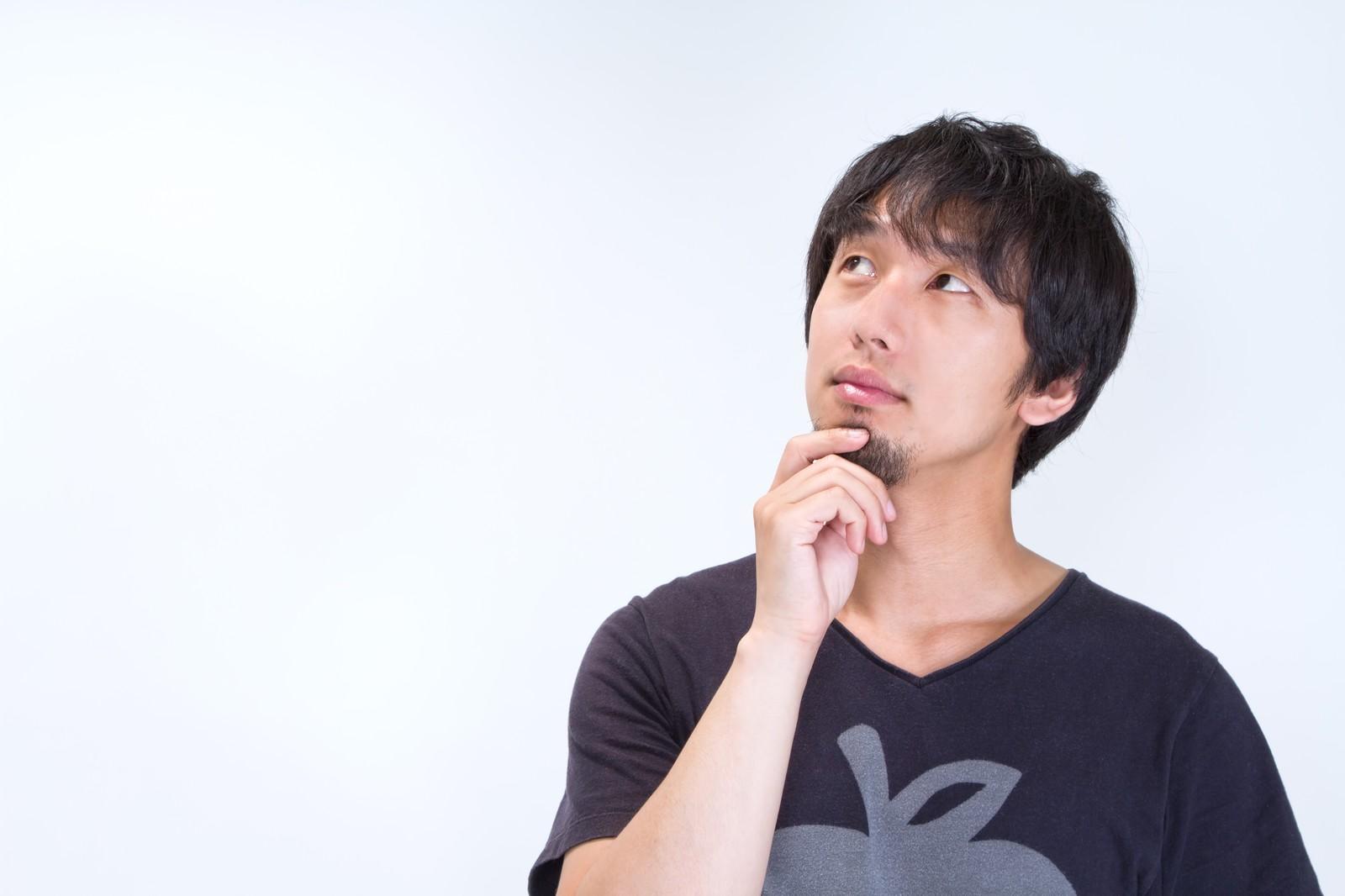 DBX-β(ディービーエックスベータ)_悩む男性イメージ