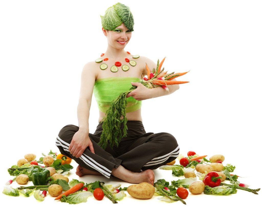 野菜_女性