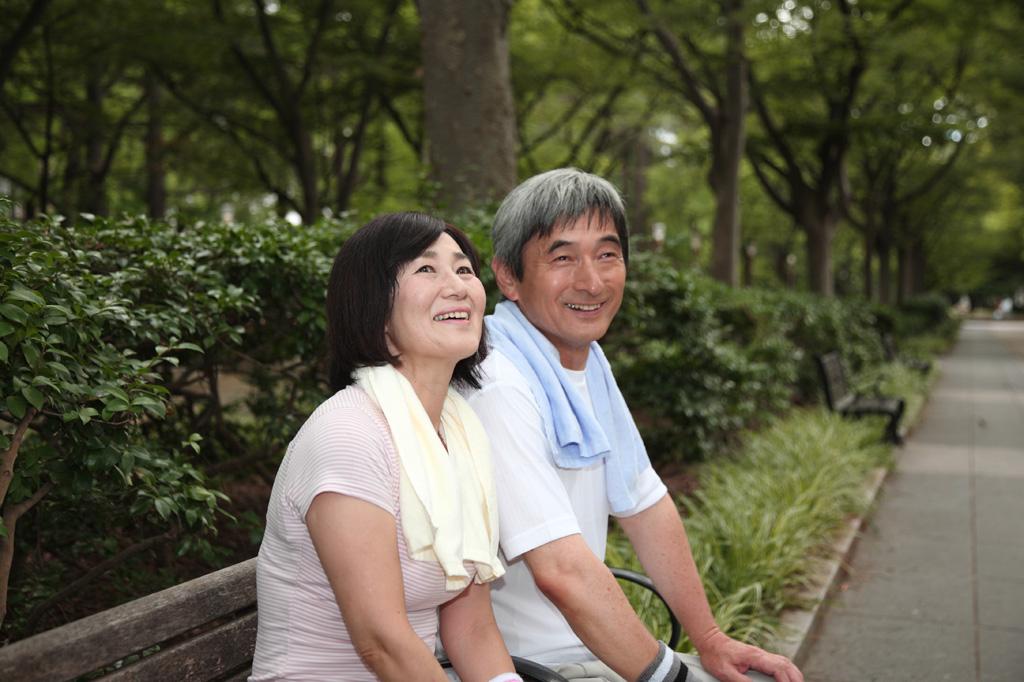健康的な中高年夫婦