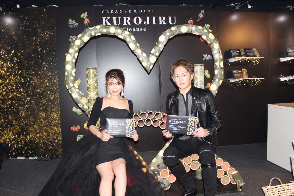 東京ガールズコレクションでの黒汁(KUROJIRU)プロモーション