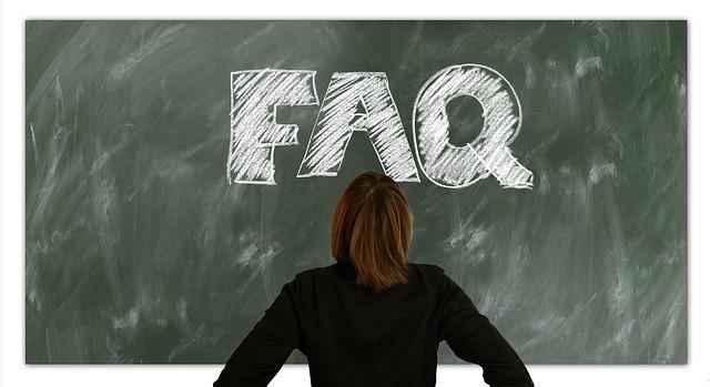 FAQ 黒板