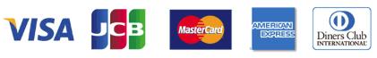 支払い可能なクレジットカード