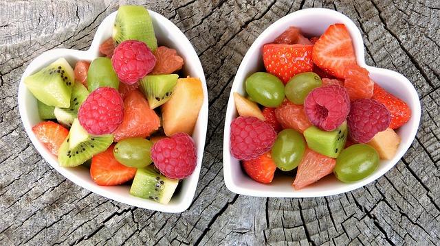 果物 かわいいハート