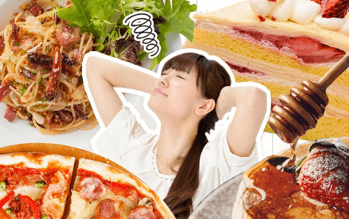食べるのやめられないと悩む女性