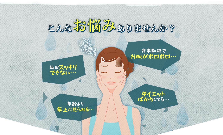 ベルタこうじ生酵素_悩み