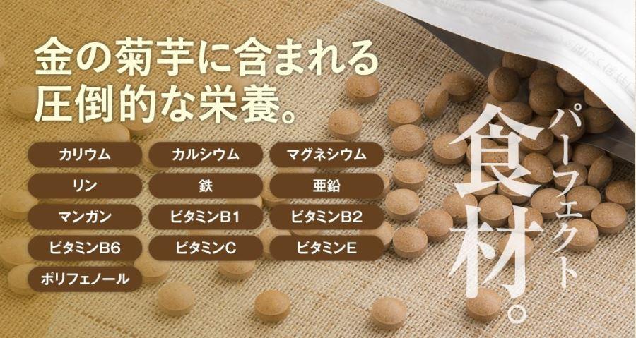 金の菊芋_栄養