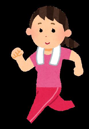 ジョギング_女性