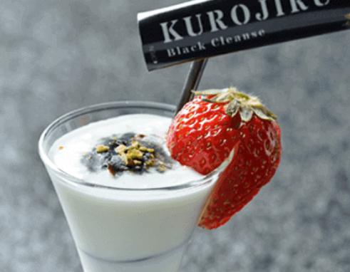 黒汁(KUROJIRU) ヨーグルト
