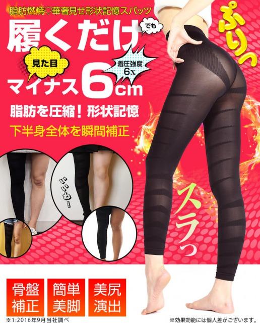 メディレギンスを履けば脚がマイナス6cm効果はウソ?悪い口コミがあるけど!評判は嘘!?ダイコン脚でも痩せる履き方は?
