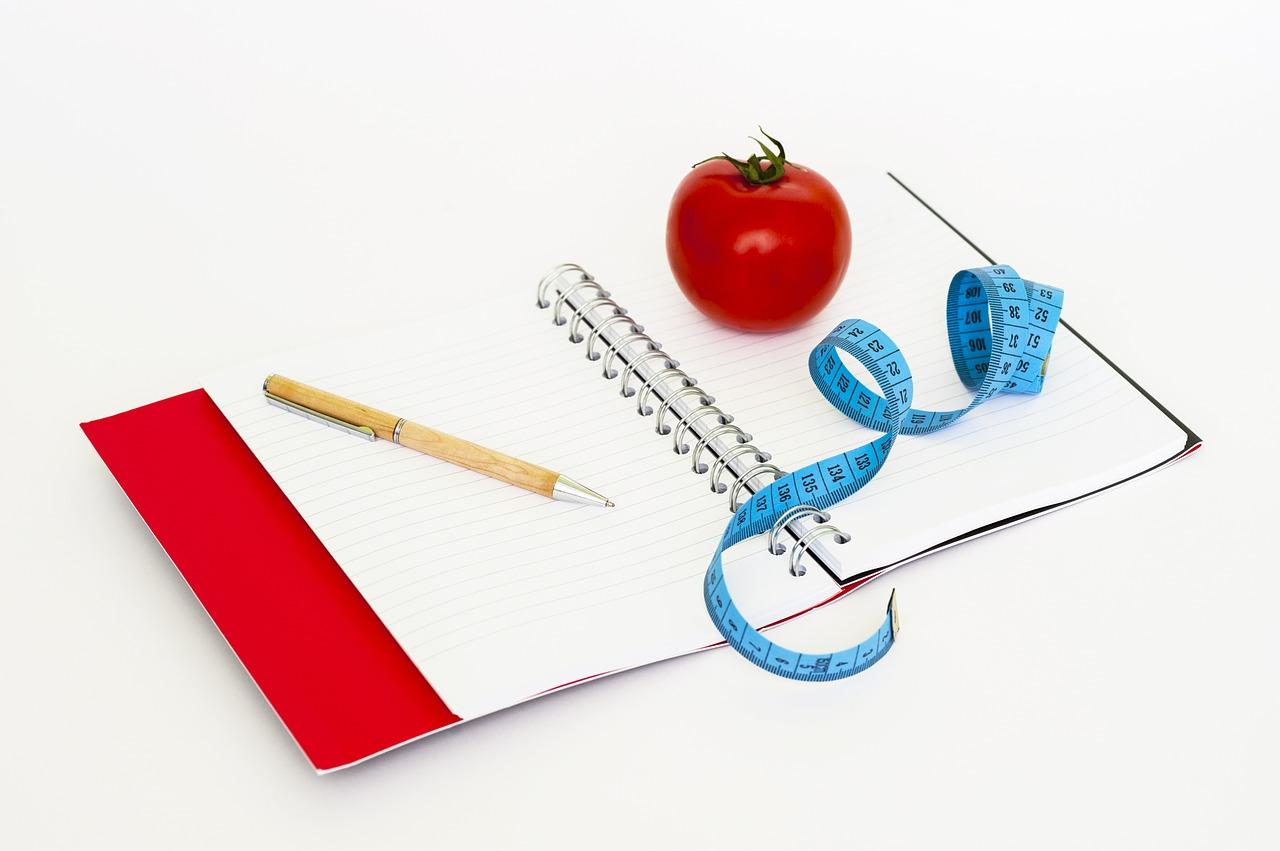 ロコヴェール(locoveil)のダイエット方法をノートに書く