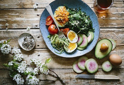 健康的な料理