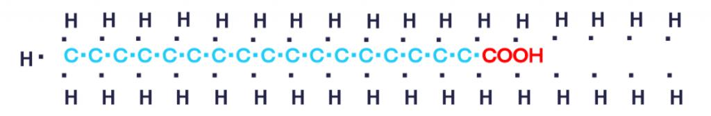 長鎖脂肪酸の炭素数